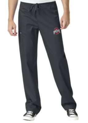 WonderWink Collegiate Ohio State Buckeyes Unisex Cargo Scrub Pant