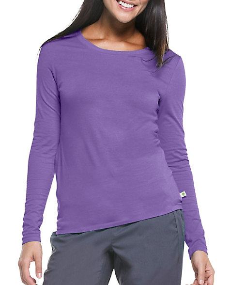 a9f55a3d0 Healing Hands Purple Label Melissa Long Sleeve Scrub Tee | Scrubs & Beyond