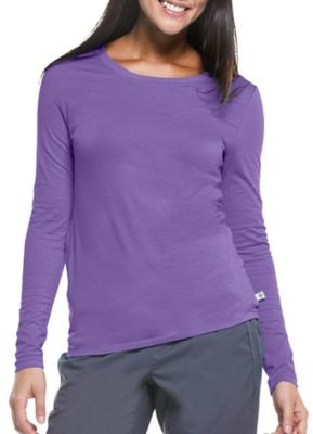 Healing Hands Purple Label Melissa Long Sleeve Scrub Tee