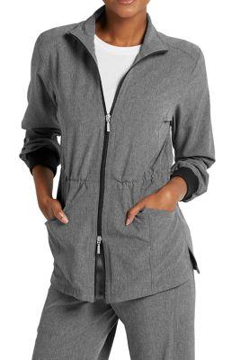 Beyond Scrubs Active Alli Zip Front Scrub Jackets