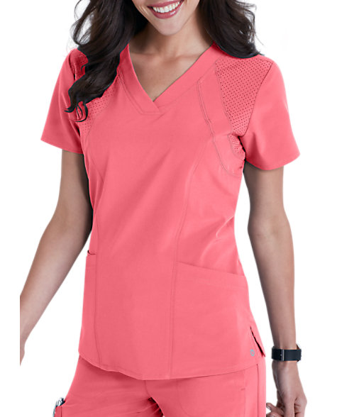 6124dfceb Barco One 4-pocket Fashion Scrub Tops | Scrubs & Beyond