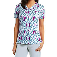 Barco One Element V-neck Print Tops