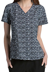 Barco One Zen 4-pocket Print Scrub Tops