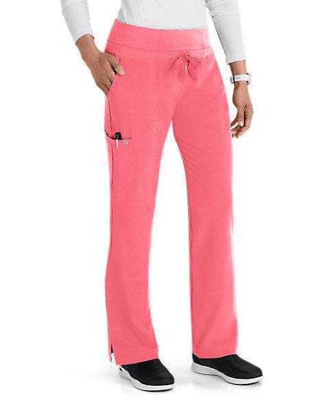 d200187e70c Barco One Knit Waistband 5 Pocket Scrub Pants | Scrubs & Beyond