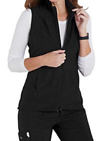 Zip Front Hi-Lo Vest