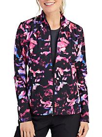 Dark Petals Print Jacket