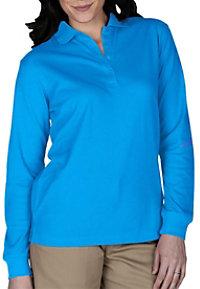 Edwards Garment Ladies Long Sleeve Polos