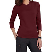 Scrubzone Red Long Sleeve Tee