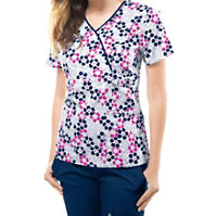 Cherokee Runway Retro Pop Floral Print Tops
