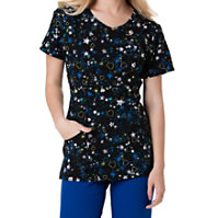 HeartSoul Love U 2 The Moon And Back Print Tops