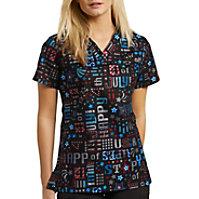 749c6d0700d Womens Print Scrub Tops at a Discount | Uniform City