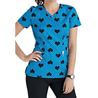 HeartSoul All Love A Sudden Print Top