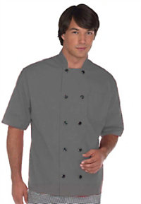 Fame Short Sleeve 10 Button Chef Coat