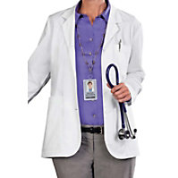 META Ladies 28 Inch Consultation Lab Coats