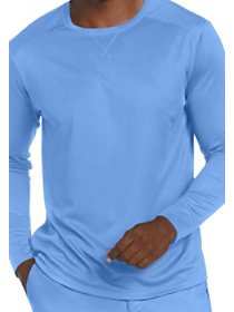 Men's Long Sleeve Mesh Tee