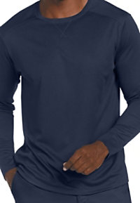 Landau Essentials Men's Long Sleeve Mesh Tees