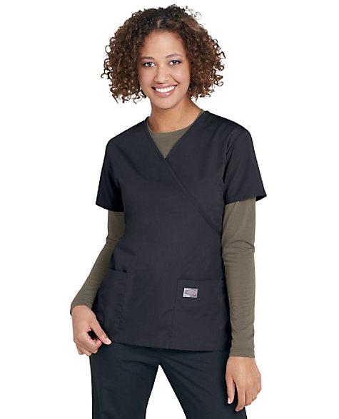 99c0a6e83f5 Scrubzone Mock-wrap Scrub Tops | Scrubs & Beyond