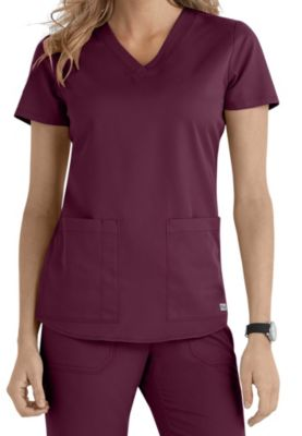 1ea4c8d1275 Greys Anatomy 2 Pocket V-Neck Scrub Top