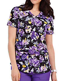 Rose To The Occasion Print Top