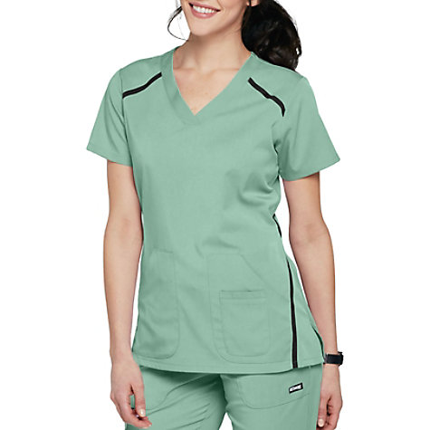2456c6980ba Grey's Anatomy Impact Elevate 3 Pocket Scrub Tops | Uniform City