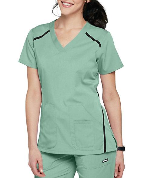 da9941059fd Grey's Anatomy Impact Elevate 3 Pocket Scrub Tops | Scrubs & Beyond