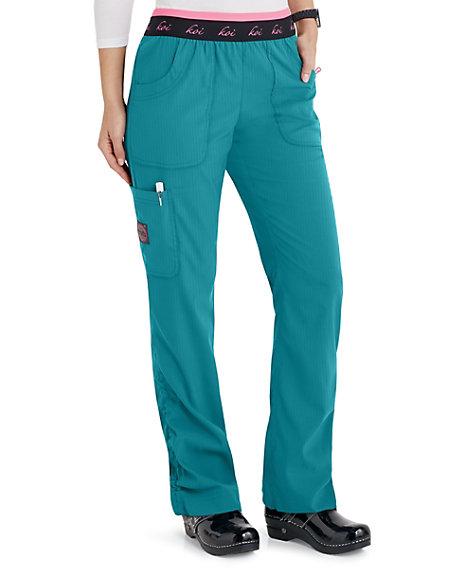 6d9f7737794 Koi Lite Spirit Logo Waist Cargo Scrub Pants | Scrubs & Beyond
