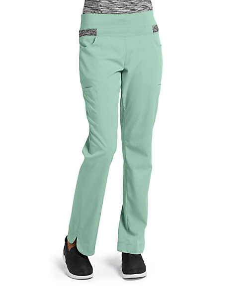 794bdc7b532 Grey's Anatomy Impact Harmony Knit Yoga Waist Scrub Pants | Scrubs & Beyond