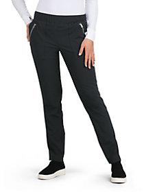 Jane Elastic Waist Cargo Pants