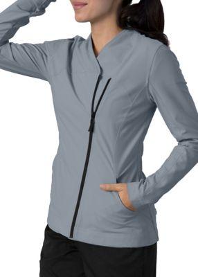 Grey's Anatomy Impact Sorona Asymmetric Zip Scrub Jackets