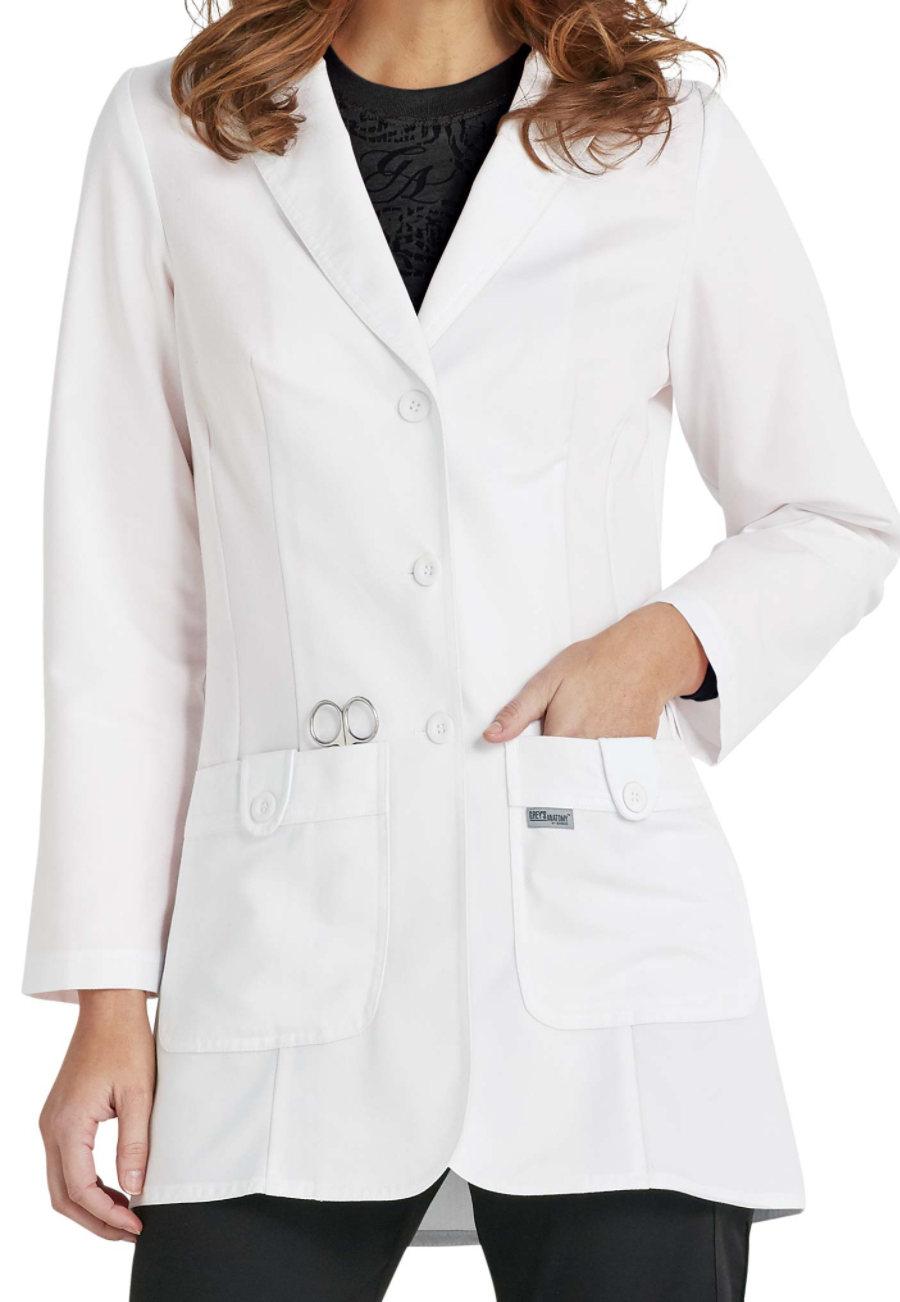 Greys Anatomy Womens 32 Inch 2 Pocket Lab Coats Scrubs Beyond