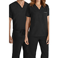 Landau Essentials Unisex V-neck Scrub Tops