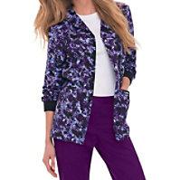 Landau Smart Stretch Purple Reign Print Jackets
