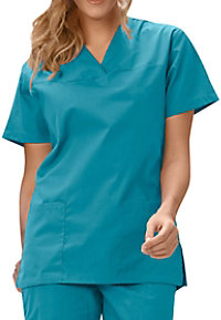 Fashion Seal Ladies V-neck Scrub Tops