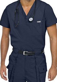 Landau Essentials Men's Vented Scrub Tops