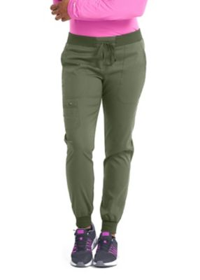 Med Couture Touch Jenny Yoga Waist Jogger Scrub Pant