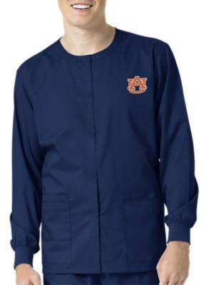 WonderWink Collegiate Auburn Tigers Unisex Scrub Jacket