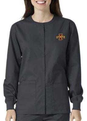 WonderWink Collegiate Iowa State Cyclones Unisex Scrub Jacket