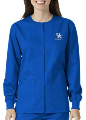 WonderWink Collegiate Kentucky Wildcats Unisex Scrub Jacket