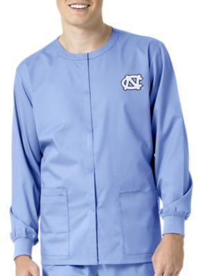 WonderWink Collegiate North Carolina Tar Heels Unisex Scrub Jacket