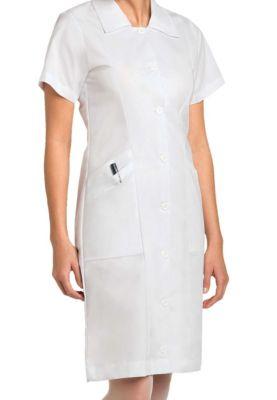 Nursing Student Button Front Dress