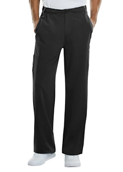 1725e27e340 Dickies Xtreme Stretch Men's Natural Rise Zip Fly Pull On Scrub Pants
