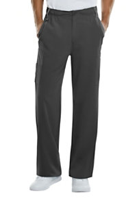 Dickies Xtreme Stretch Men's Natural Rise Zip Fly Pull On Scrub Pants