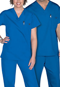 Life Essentials Unisex V-neck Scrub Tops