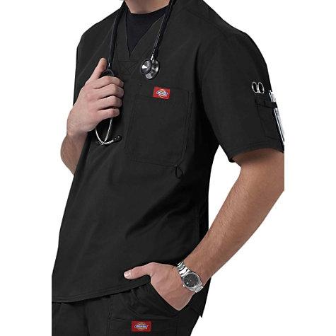 f9c18908cb9 Dickies Gen Flex Men's Youtility V-neck Scrub Tops   Uniform City
