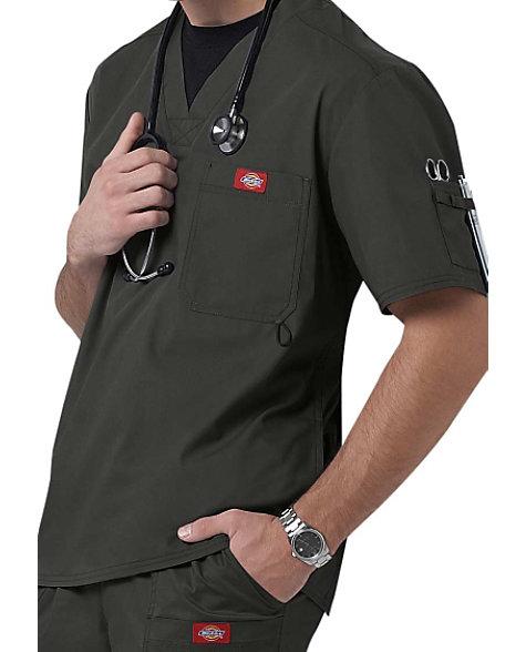 9ef58702aa4 Dickies Gen Flex Men's Youtility V-neck Scrub Tops | Scrubs & Beyond