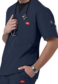 Dickies Gen Flex Men's Youtility V-neck Scrub Tops