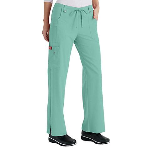 8e68a2d29e7 Dickies Xtreme Stretch Mid Rise Drawstring Cargo Scrub Pants | Uniform City