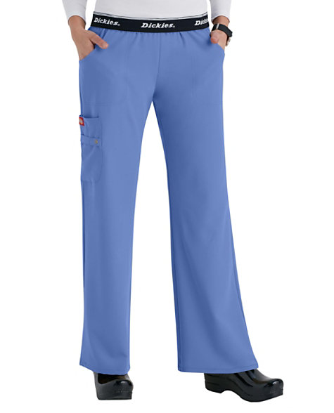 668d5748b73 Dickies Xtreme Stretch Mid Rise Pull-On Cargo Scrub Pants | Scrubs & Beyond