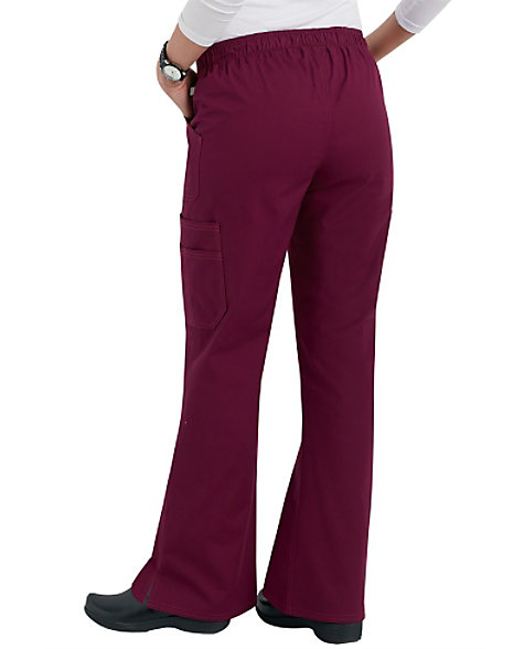 4a0b38887fb Dickies EDS Signature Stretch Flare Leg Scrub Pants With Certainty ...