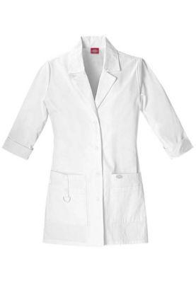 dickies 30 inch 3 4 sleeves lab coats scrubs beyond Man Coat prev